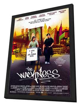 The Wackness - 27 x 40 Movie Poster - Style A - in Deluxe Wood Frame