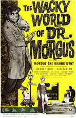 The Wacky World of Dr. Morgus - 11 x 17 Movie Poster - Style A