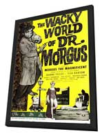 The Wacky World of Dr. Morgus - 11 x 17 Movie Poster - Style A - in Deluxe Wood Frame