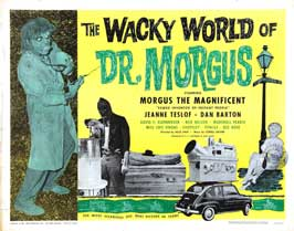 The Wacky World of Dr. Morgus - 22 x 28 Movie Poster - Half Sheet Style A