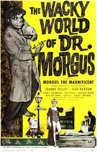 The Wacky World of Dr. Morgus - 11 x 17 Movie Poster - Style A - Museum Wrapped Canvas