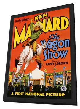 The Wagon Show - 11 x 17 Movie Poster - Style A - in Deluxe Wood Frame