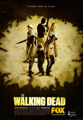 The Walking Dead (TV) - 11 x 17 TV Poster - Argentinian Style A