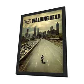 The Walking Dead (TV) - 27 x 40 Poster in Deluxe Wood Frame