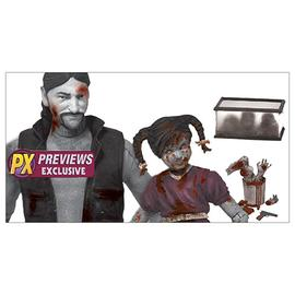 The Walking Dead (TV) - Comic Series 2 Governor and Penny Figure 2-Pack