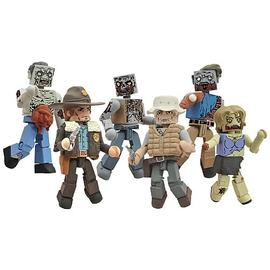 The Walking Dead (TV) - Minimates Series 1 Mini-Figure 2-Pack Case