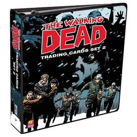 The Walking Dead (TV) - Comic Book Trading Cards Set 2 Binder