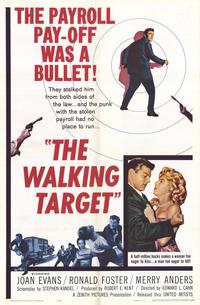 The Walking Target - 11 x 17 Movie Poster - Style A