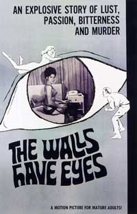 The Walls Have Eyes - 27 x 40 Movie Poster - Style A