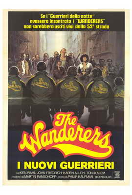 The Wanderers - 27 x 40 Movie Poster - Italian Style A