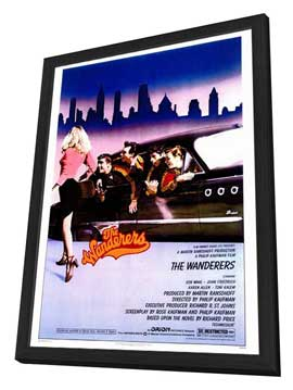 The Wanderers - 27 x 40 Movie Poster - Style A - in Deluxe Wood Frame