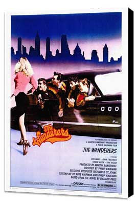 The Wanderers - 27 x 40 Movie Poster - Style A - Museum Wrapped Canvas