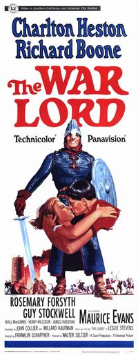 The War Lord - 14 x 36 Movie Poster - Insert Style A