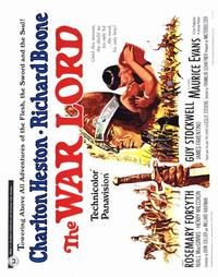 The War Lord - 22 x 28 Movie Poster - Half Sheet Style A