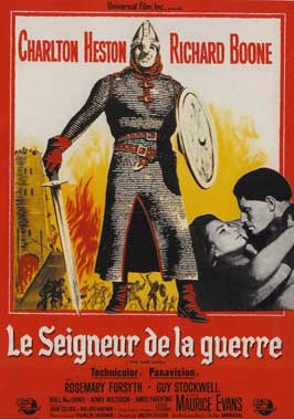 The War Lord - 11 x 17 Movie Poster - French Style A