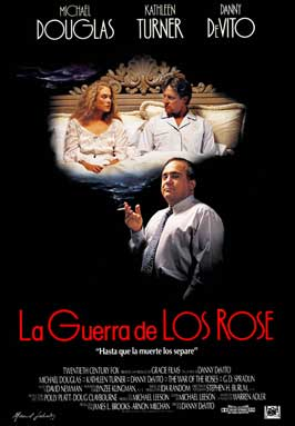 The War of the Roses - 27 x 40 Movie Poster - Spanish Style A