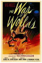 The War of the Worlds - 27 x 40 Movie Poster - Style A