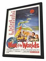 The War of the Worlds - 11 x 17 Movie Poster - Style C - in Deluxe Wood Frame