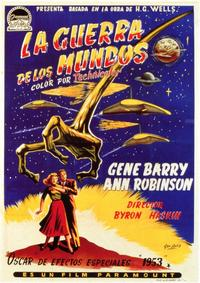 The War of the Worlds - 11 x 17 Movie Poster - Spanish Style A