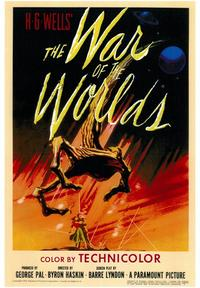 The War of the Worlds - 43 x 62 Movie Poster - Bus Shelter Style A