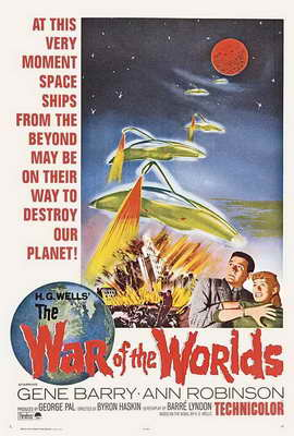 The War of the Worlds - 27 x 40 Movie Poster - Style B