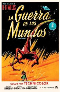 The War of the Worlds - 27 x 40 Movie Poster - Spanish Style A