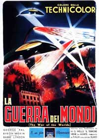 The War of the Worlds - 11 x 17 Movie Poster - Italian Style A