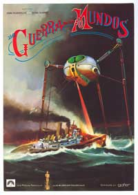 The War of the Worlds - 11 x 17 Movie Poster - Spanish Style E