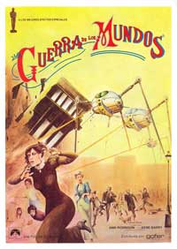 The War of the Worlds - 27 x 40 Movie Poster - Spanish Style C