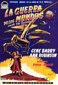 The War of the Worlds - 27 x 40 Movie Poster - Spanish Style D