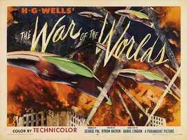 The War of the Worlds - 30 x 40 Movie Poster UK - Style A