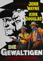 The War Wagon - 27 x 40 Movie Poster - German Style A