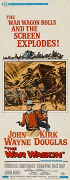 The War Wagon - 14 x 36 Movie Poster - Insert Style A
