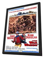 The War Wagon - 11 x 17 Movie Poster - Style A - in Deluxe Wood Frame