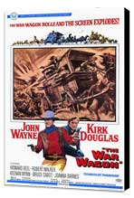 The War Wagon - 11 x 17 Movie Poster - Style A - Museum Wrapped Canvas