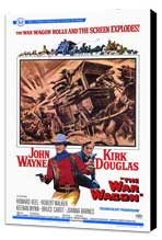 The War Wagon - 27 x 40 Movie Poster - Style A - Museum Wrapped Canvas