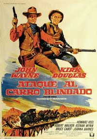 The War Wagon - 11 x 17 Movie Poster - Spanish Style A