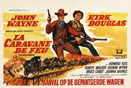 The War Wagon - 27 x 40 Movie Poster - Belgian Style A