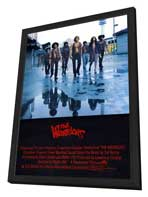 The Warriors - 27 x 40 Movie Poster - UK Style A - in Deluxe Wood Frame