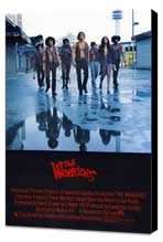 The Warriors - 27 x 40 Movie Poster - UK Style A - Museum Wrapped Canvas