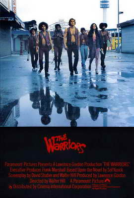 The Warriors - 27 x 40 Movie Poster - UK Style A