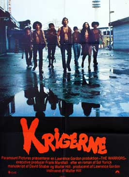 The Warriors - 27 x 40 Movie Poster - Danish Style A