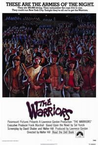 The Warriors - 11 x 17 Movie Poster - Style A - Museum Wrapped Canvas