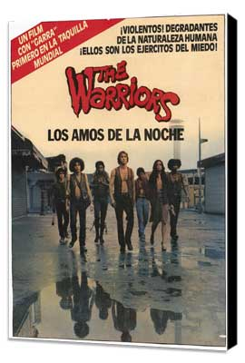 The Warriors - 11 x 17 Poster Argentine Style B - Museum Wrapped Canvas