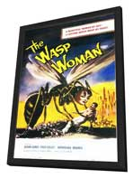 The Wasp Woman - 11 x 17 Movie Poster - Style A - in Deluxe Wood Frame