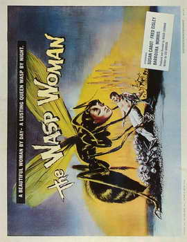 The Wasp Woman - 11 x 17 Movie Poster - Style B