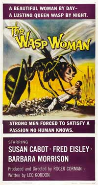 The Wasp Woman - 20 x 40 Movie Poster - Style A