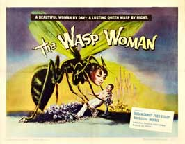 The Wasp Woman - 22 x 28 Movie Poster - Half Sheet Style A
