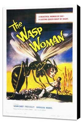 The Wasp Woman - 27 x 40 Movie Poster - Style A - Museum Wrapped Canvas