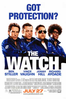 The Watch - DS 1 Sheet Movie Poster - Style B